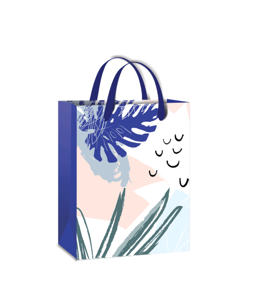 Gift bag with a pattern!