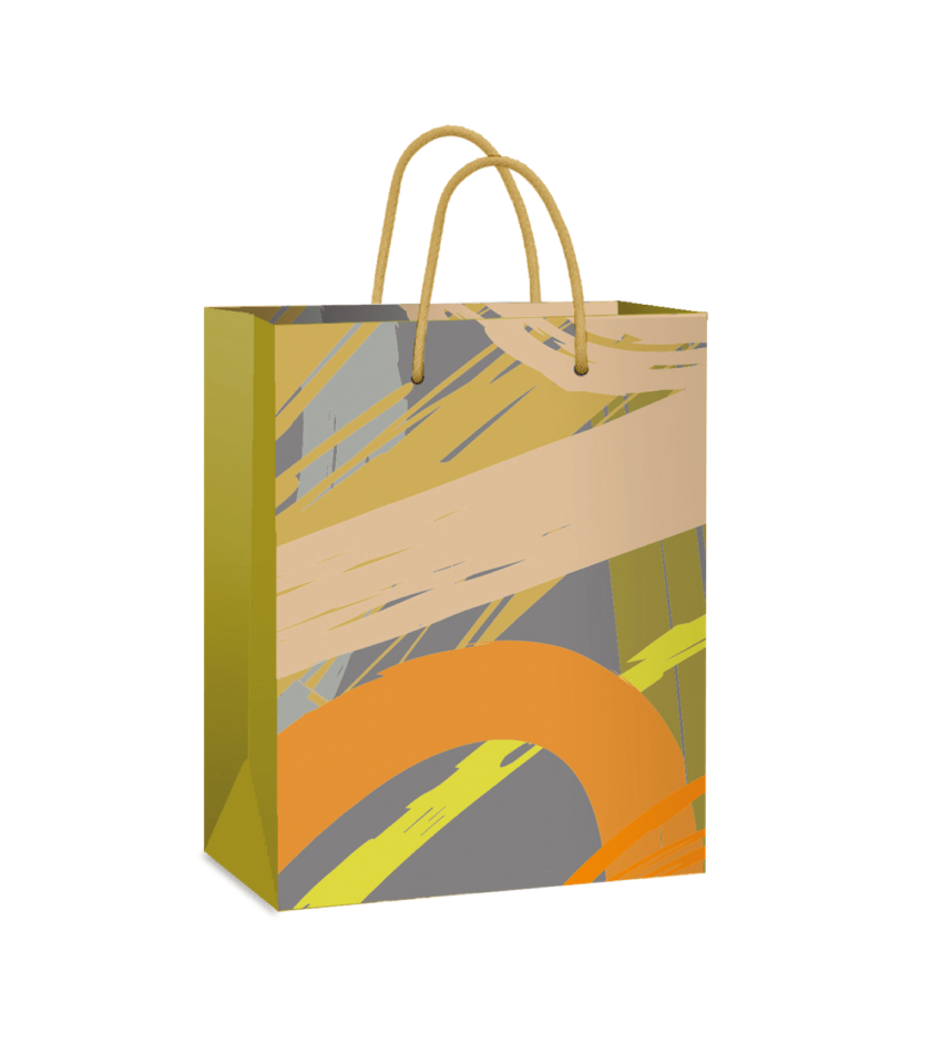 Gift bag with abstraction!